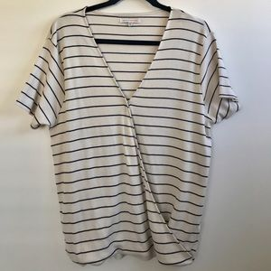 NWT Known Supply Wrap Top